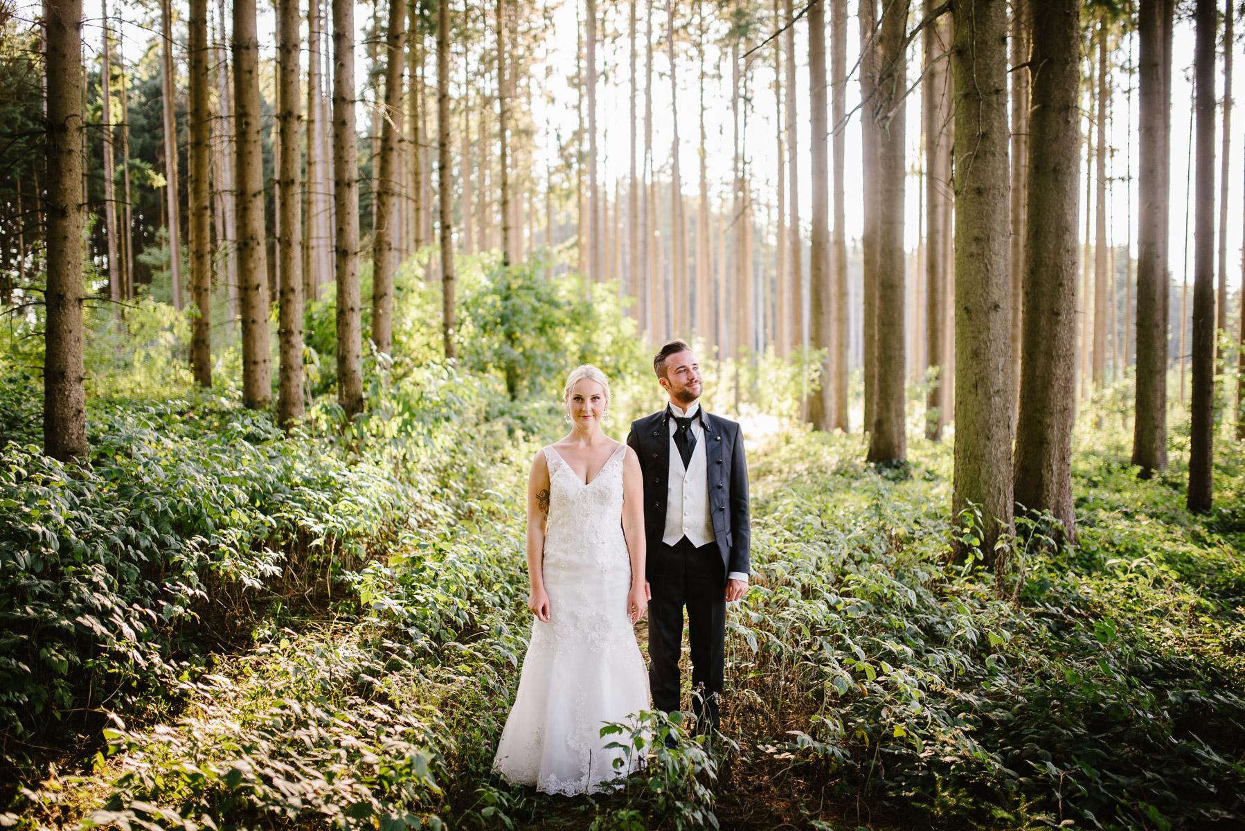 Hochzeit im Sebastianihof in Johannesbrunn