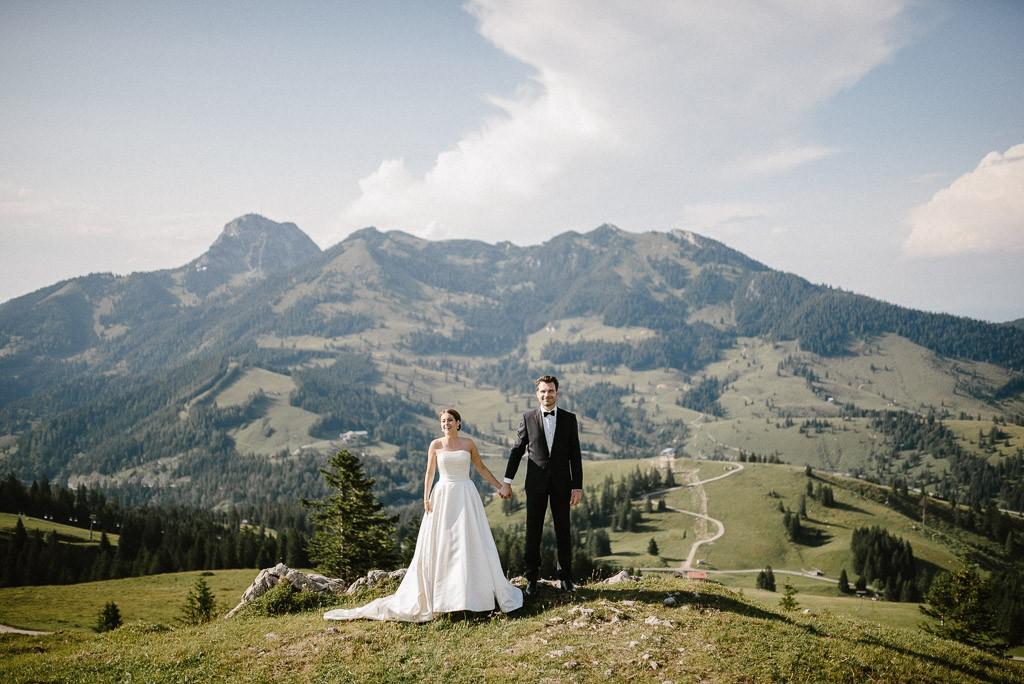 Hochzeit in der Speck-Alm auf dem Sudelfeld