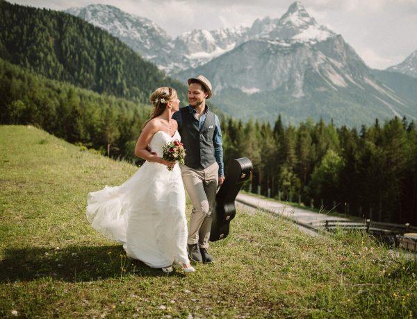 Hochzeit auf der Gamsalm