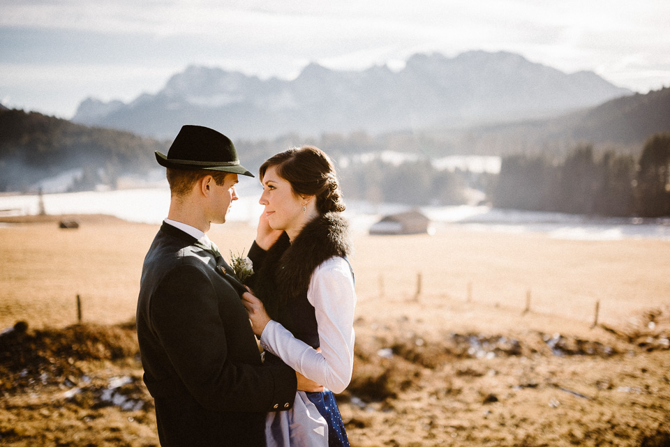 Fotograf Garmisch Martina & Matthias Featured Hochzeit Winter