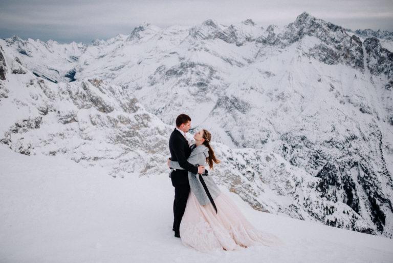Paarshooting auf dem Karwendel