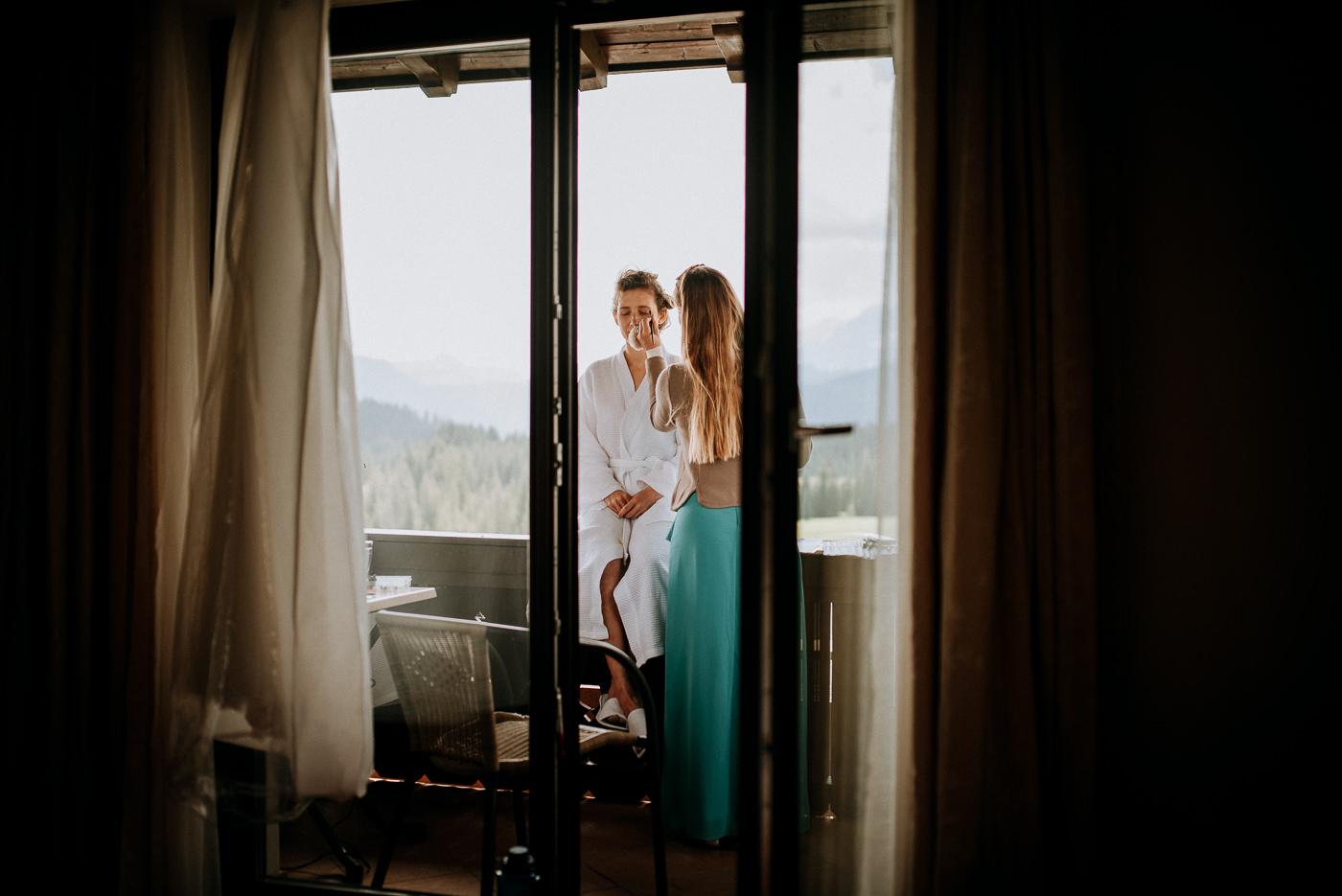 Hochzeit auf der Winklmoos Alm
